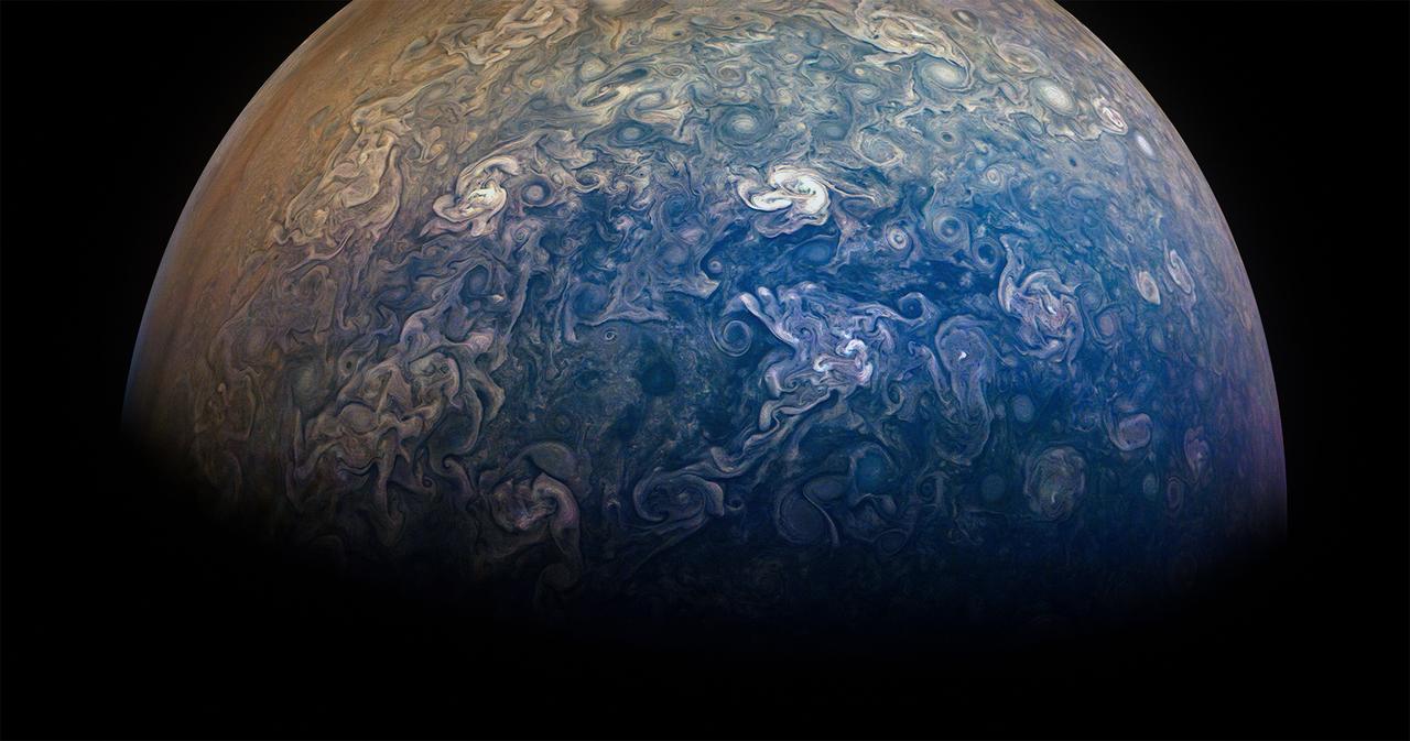 木星の一極