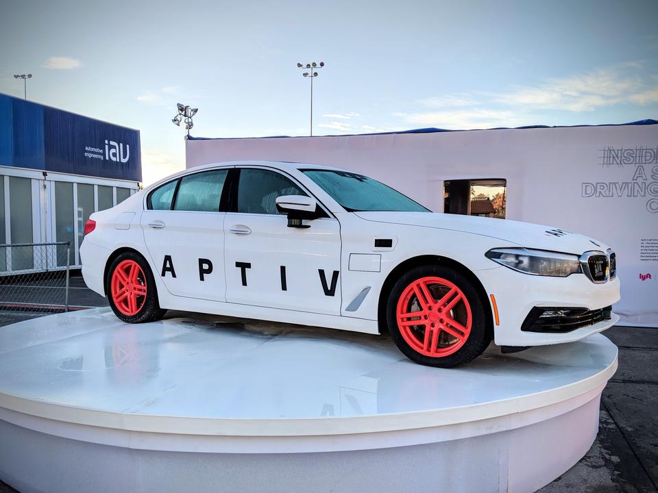 Aptivの自動運転車