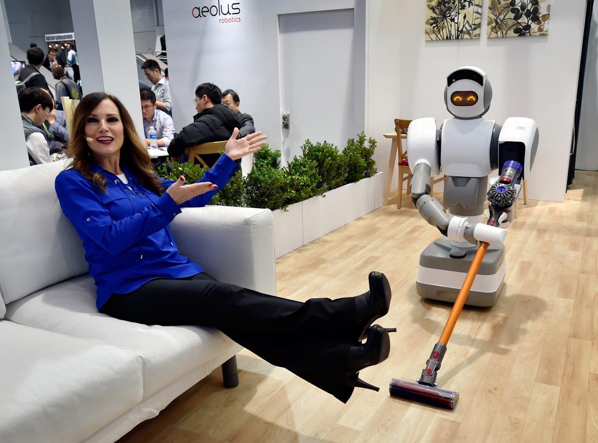 Aeolusがロボットの性能をアピール。