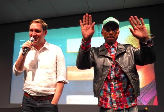 ファレル・ウィリアムスとローランド・ラム氏