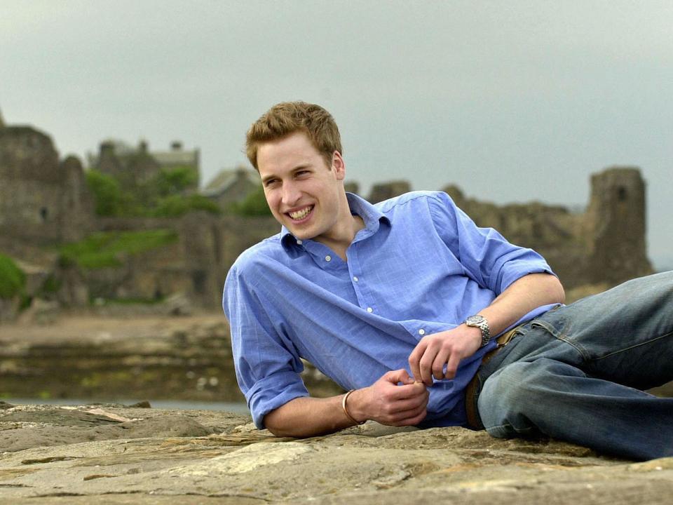 ウィリアム王子、昔の写真