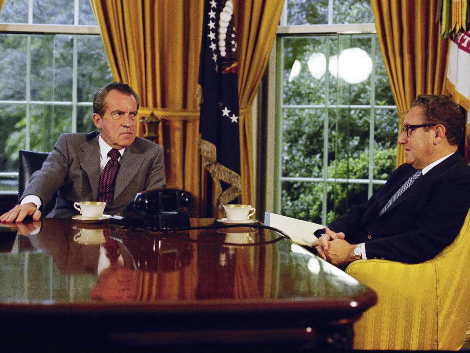 リチャード・ニクソンとヘンリー・キッシンジャー