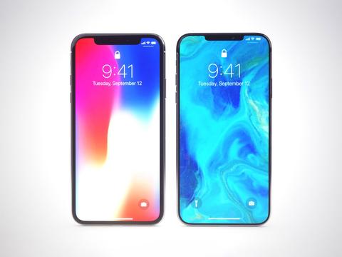iPhone Xの後継モデルを予想、デザイナーが3D画像を作成
