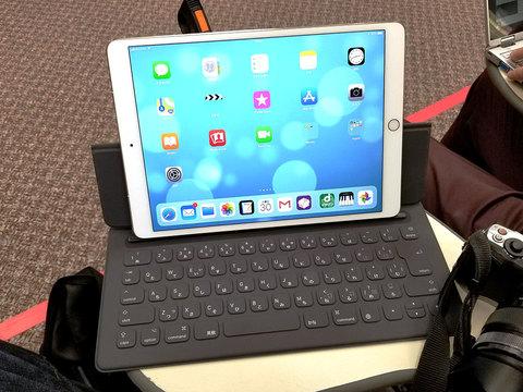 10.5インチiPad Proと12.9インチ向けSmart Keyboard