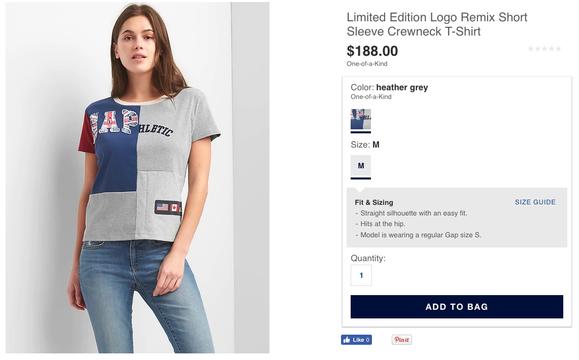 約2万円のTシャツ