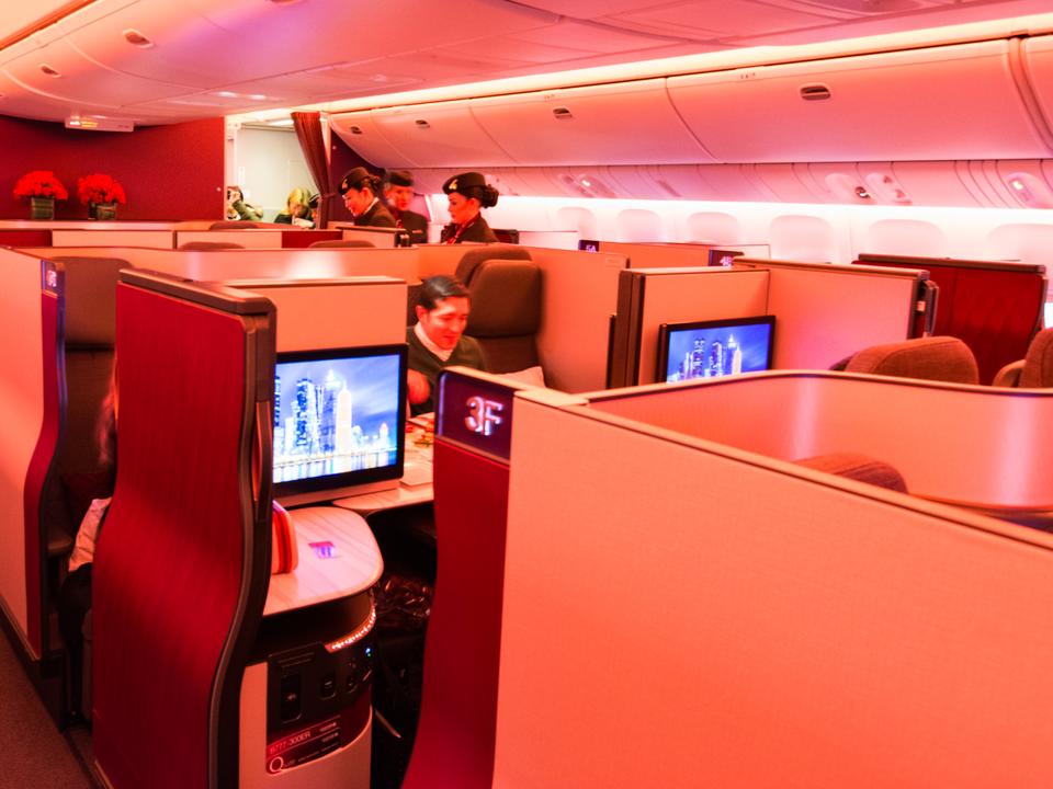 カタール航空のQsuite
