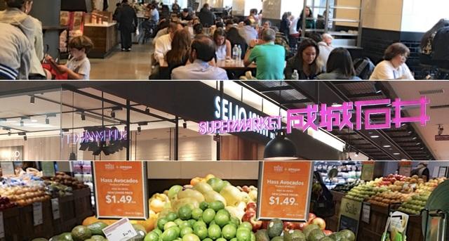 """「小売破壊からの脱出」日本の高級スーパーが""""グローサラント""""に参入する理由"""