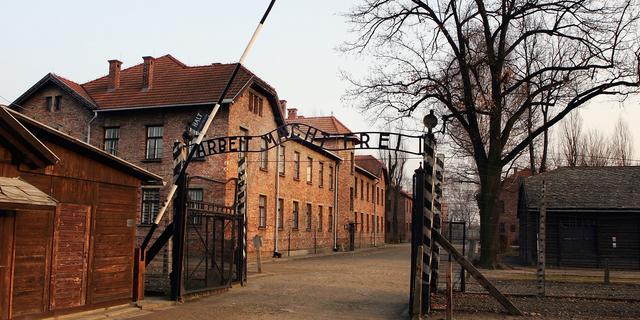 アウシュビッツ収容所の外観