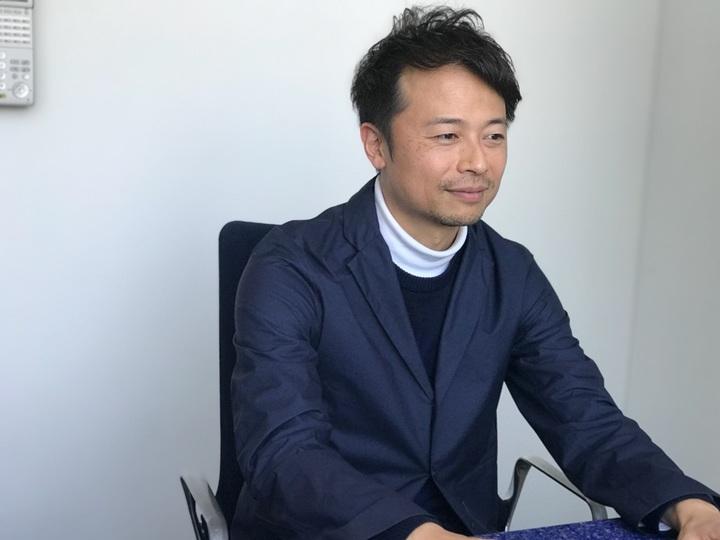 シタテル・代表取締役社長の河野秀和氏。