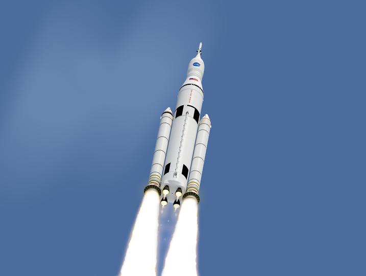 大型深宇宙探査ロケットSLS