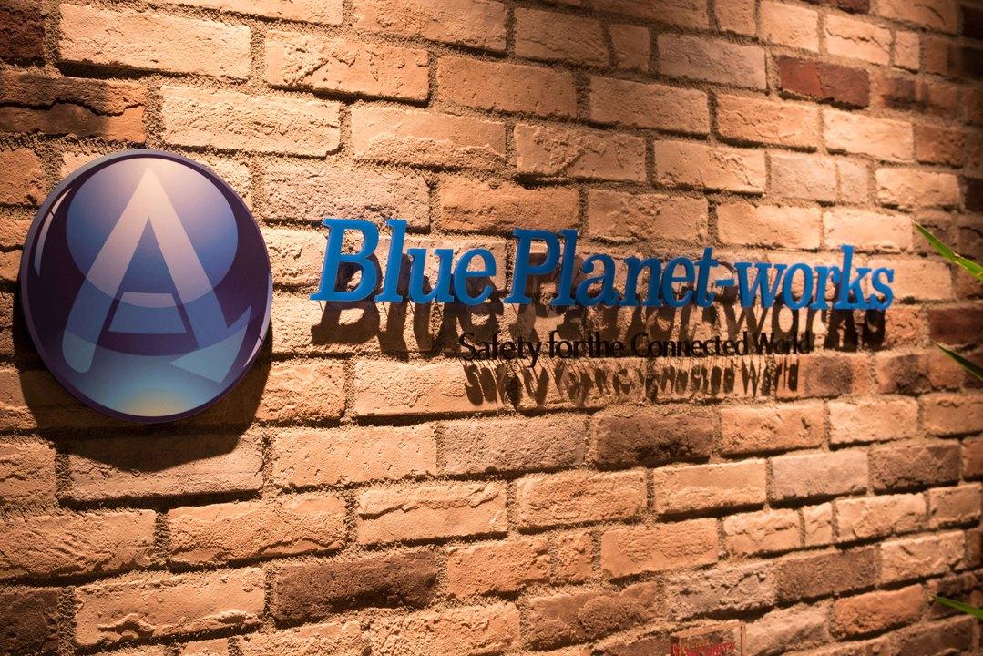 Blue Planet-worksロゴ