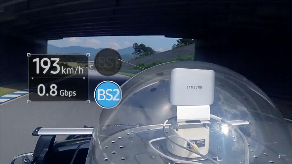 5G 高速ハンドオーバー技術 実験