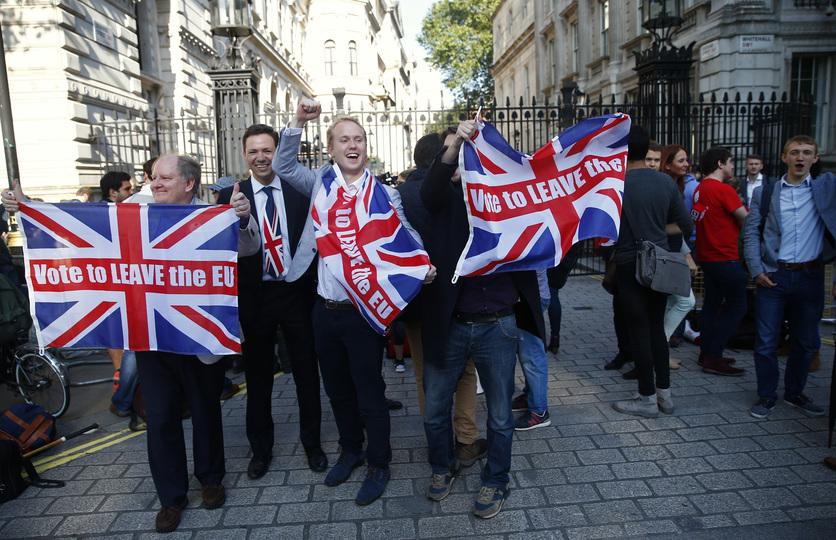 EU離脱を支持する人々