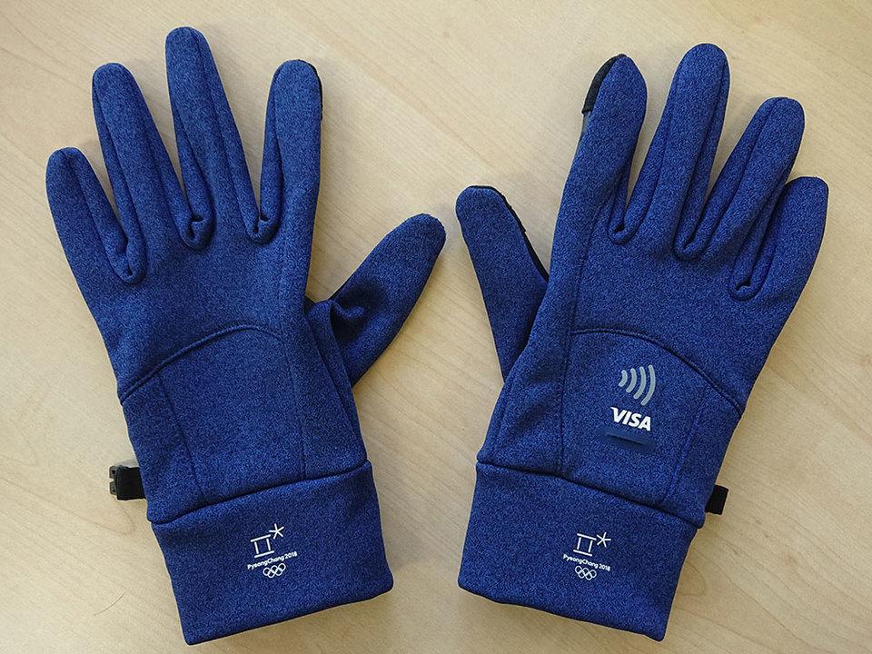 平昌オリンピック オフィシャル手袋