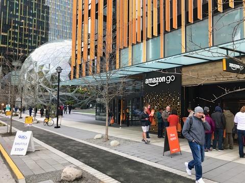 Amazon Go1号店