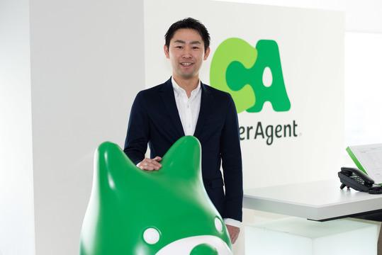 サイバーエージェントビットコインの卜部宏樹社長(31)。