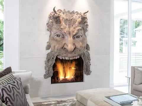 悪魔の暖炉