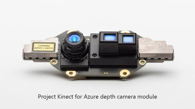 Project Kinect for Azureのカメラセンサー