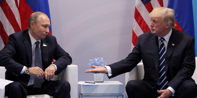 プーチン大統領とトランプ大統領