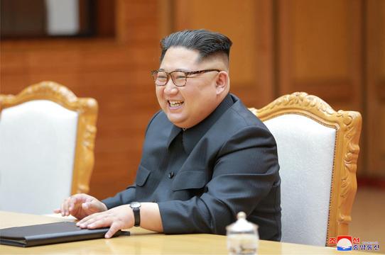 金正恩朝鮮労働党委員長