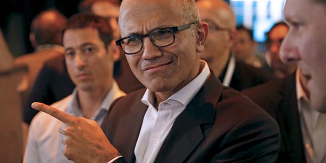 マイクロソフトCEOサティア・ナデラ氏。