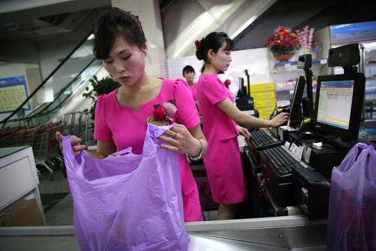 北朝鮮のデパート