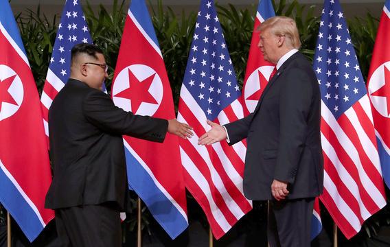 ki北朝鮮の金正恩委員長とアメリカのトランプ大統領