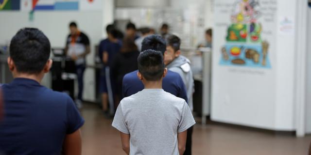 施設内の子ども
