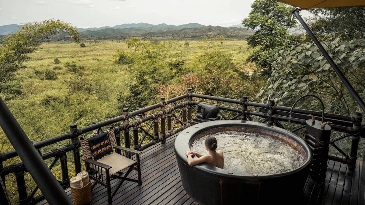 Four Seaons Tented Camp Golden Triangle