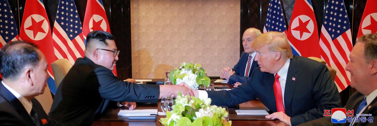 シンガポール会談で北朝鮮の非核化に合意したはずの米朝