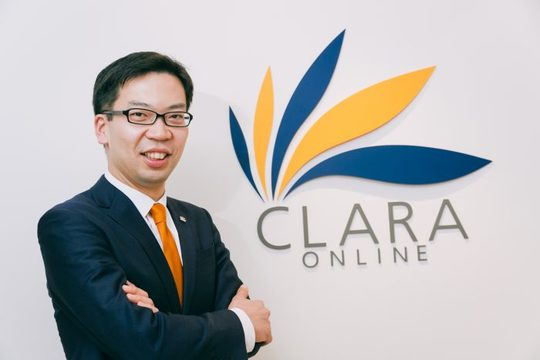 クララオンライン代表取締役社長の家本賢太郎さん
