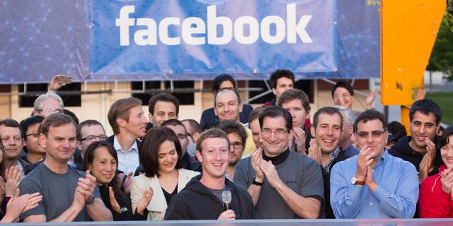 フェイスブックの幹部たち