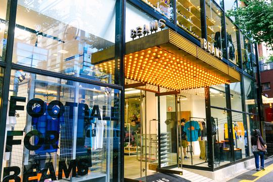 BEAMS店舗