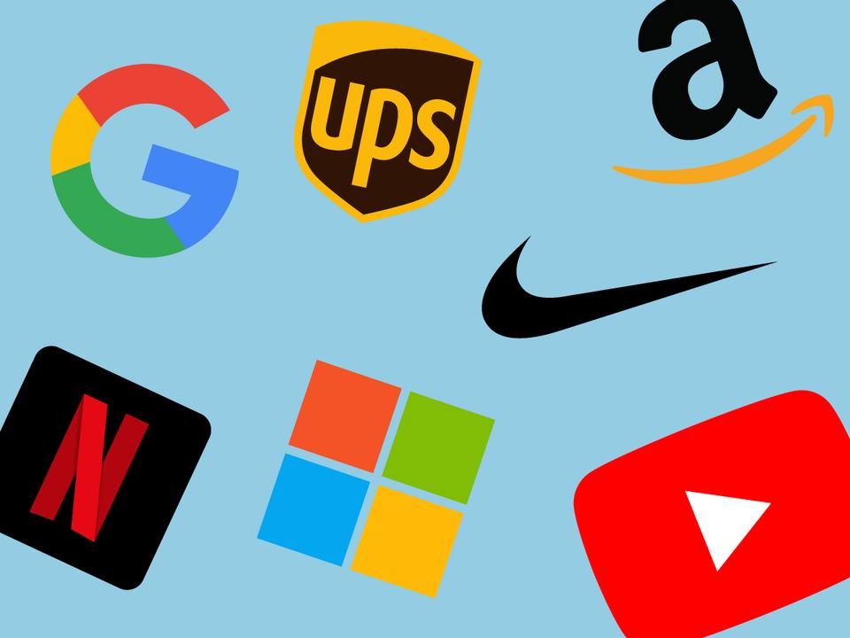 各ブランドのロゴ