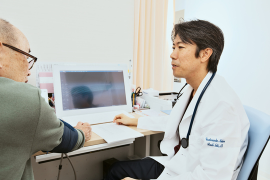 医者と患者のイメージ