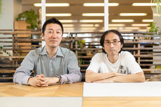 徳力さん(左)と中川淳一郎さん(右)