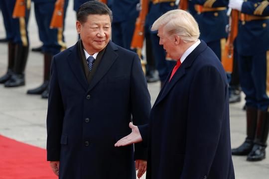 アメリカのトランプ大統領と中国の習近平国家主席