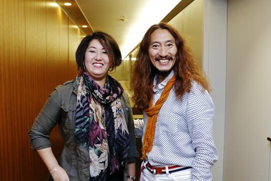 澤円さんと堀江愛利さん