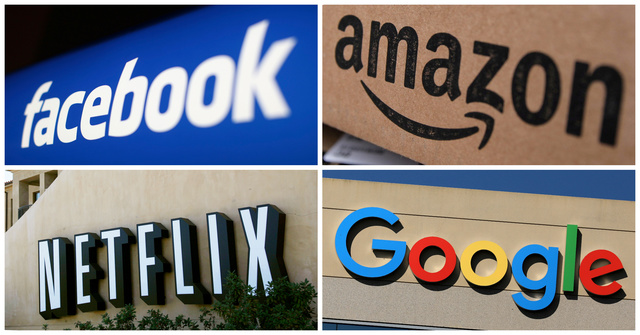 Google, Amazon, Facebook, Netflix