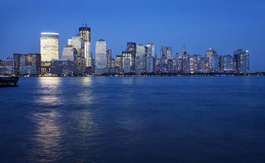 同時多発テロ事件:マンハッタンの高層ビル