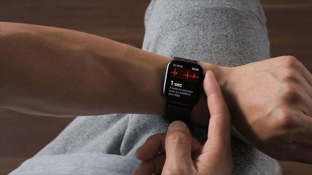 Apple Watchで心電図の記録