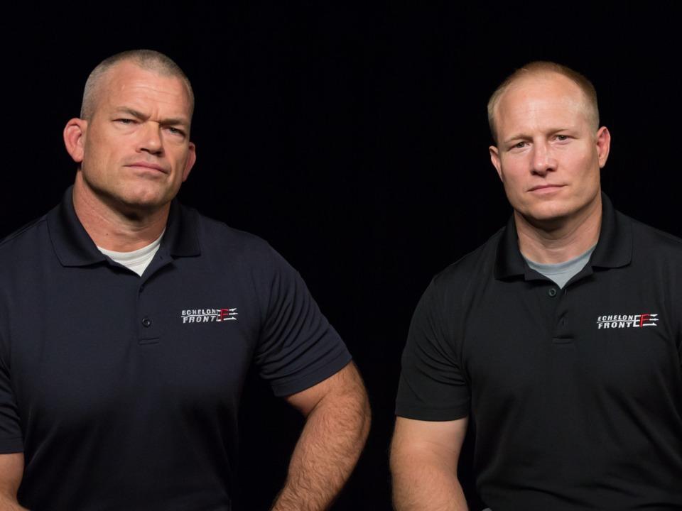 エシュロン・フロントの共同創業者、ジョッコ・ウィリンク氏とリーフ・バビン氏。