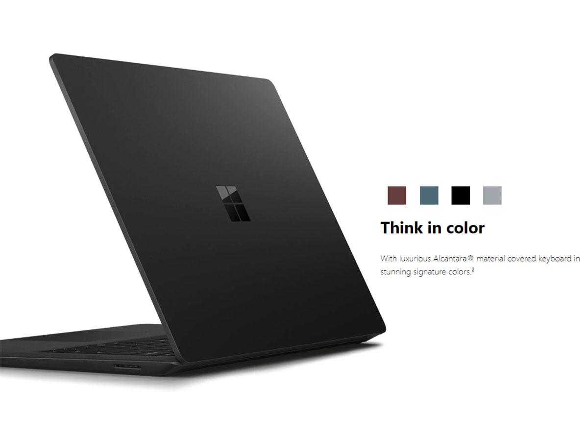 """黒い""""新Surface Pro 6登場、月額..."""