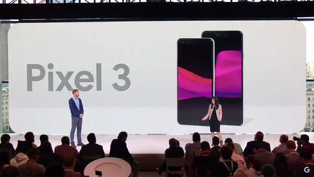 Pixel 3シリーズ発表