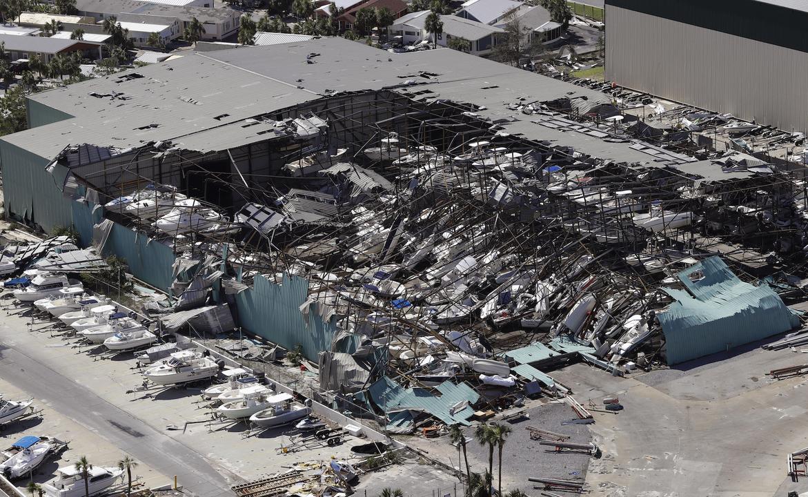 ハリケーン・マイケルの被害