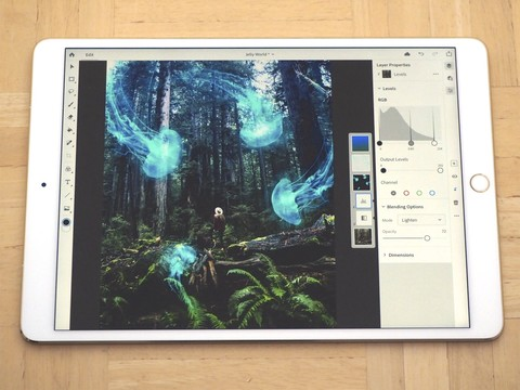 Photoshop CC on iPad