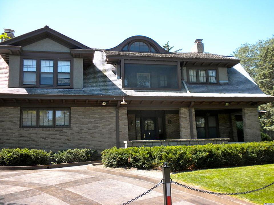 ウォーレン・バフェット氏の家