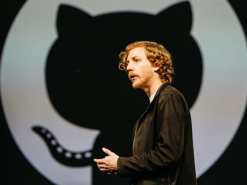 GitHubの共同創業者クリス・ワンストラス氏。