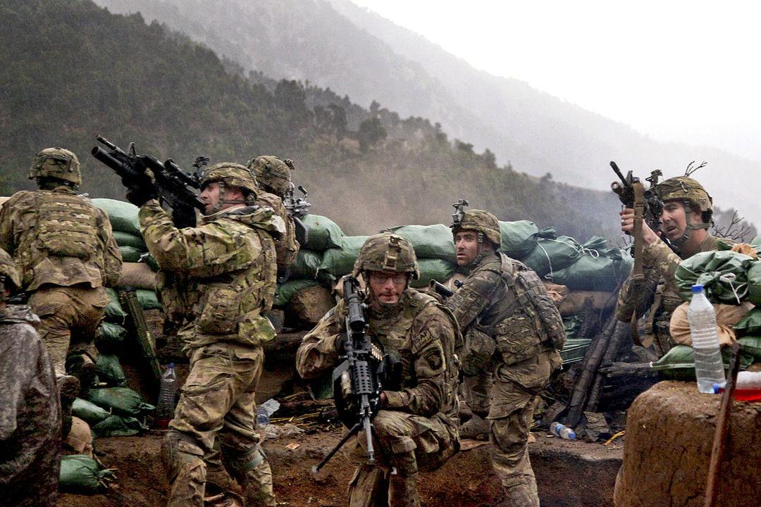 アフガニスタンに展開する米軍