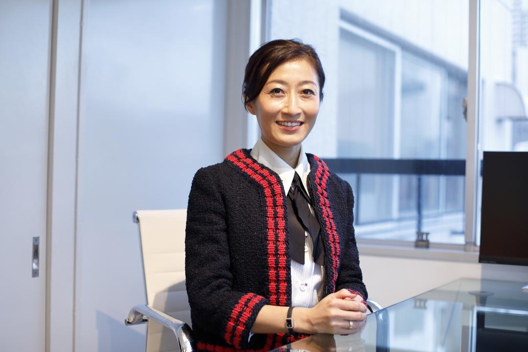 株式会社TPO代表取締役のマニヤン麻里子さん